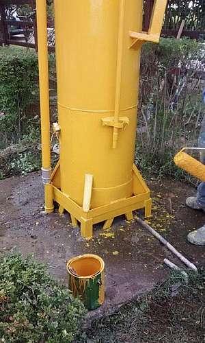Desinfecção de reservatórios de água potável