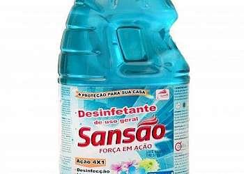 Produtos desinfetantes