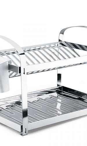 Escorredor de louça inox 29 pratos