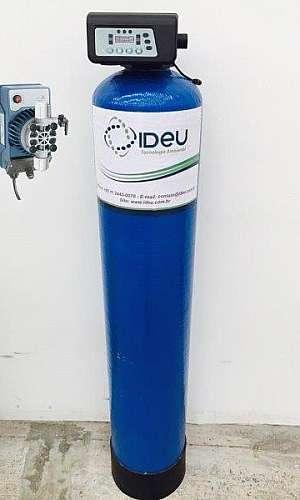 Fábrica de filtros para tratamento de água