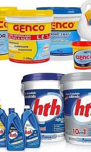 Kit de Produtos Químicos para Limpeza de Piscina