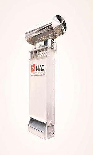Maquina de gelo industrial escama