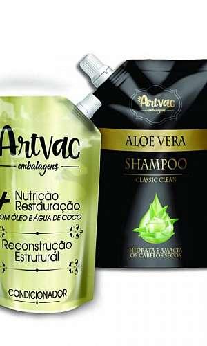 Rótulos de produtos de higiene pessoal