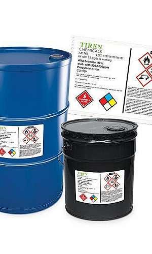 Rótulos de produtos químicos