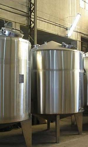 Tanque Misturador para Fabricar Produtos de Limpeza